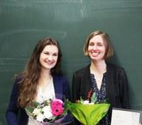 Ada-Lovelace-Preis for Nora Lüthen und Sara Hahner