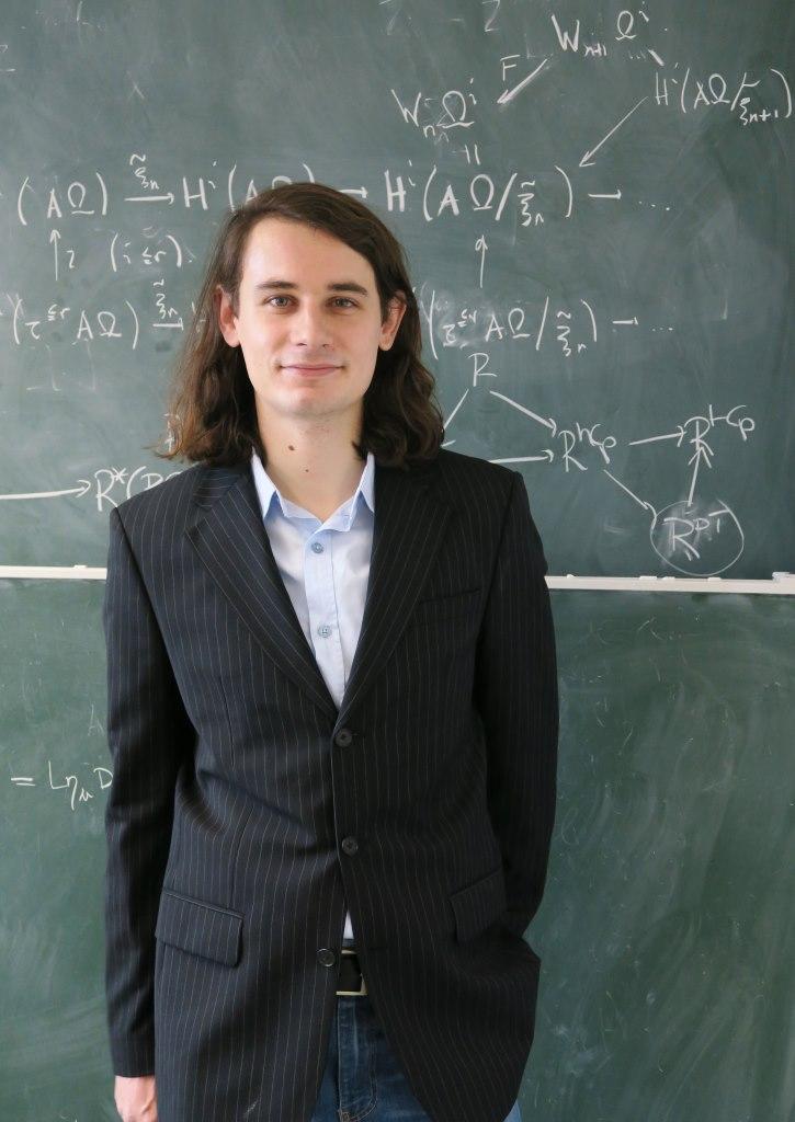 Leibniz Preis für Hausdorff Chair Peter Scholze