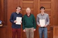 Preise für die besten Bachelor-Absolventen und Hausdorff-Gedächtnispreis